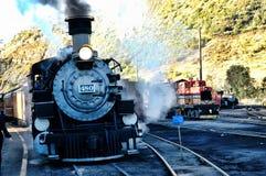 Durango Steam Fotos de archivo libres de regalías