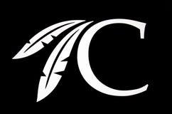 DURANT, OKLAHOMA - 17. Oktober 2017 - Logo der Choctaw-Kasinos u. der Erholungsorte, der Kette von acht indischen Kasinos und der Lizenzfreies Stockfoto