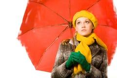 Durante a chuva fotografia de stock royalty free