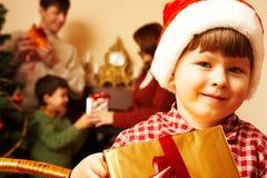 Durante i cristmas Fotografia Stock