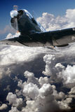 Durante il volo Fotografia Stock Libera da Diritti
