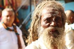 Durante las celebraciones Makar Sankranti Fotos de archivo libres de regalías