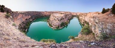 Duraton Canyon Natural Park Royalty Free Stock Photo
