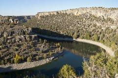 Duraton River Canyon Royalty Free Stock Photos