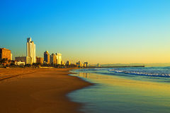 Durban Beach Front South Africa. Durban beach front - South Africa royalty free stock photo