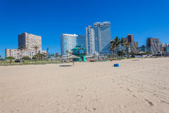 Durban Beachs Ocean Sea Promenade Travel Royalty Free Stock Image