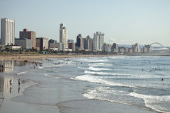 Durban beach royalty free stock images
