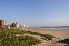 Durban Beachfront Royalty-vrije Stock Fotografie