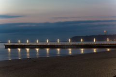 Durban Beachfront Piers Royalty Free Stock Images