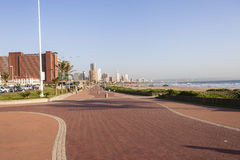Durban Beachfront Promenade Stock Images