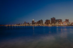 Durban Beachfront Sunset Stock Image