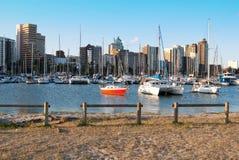 Durban-Bootshafen Lizenzfreie Stockbilder