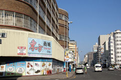 Durban Central Business District in South Africa Royalty Free Stock Images