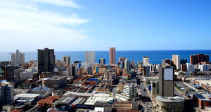 Durban city skyline Royalty Free Stock Images
