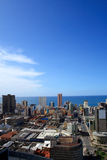 Durban city skyline Stock Images