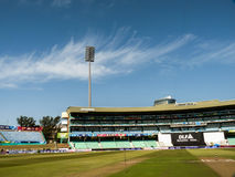 Durban cricket ground. Cricket ground at Kingsmead Durban Stock Images