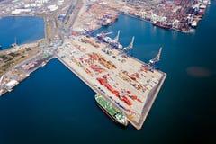 Durban-Hafen stockbild