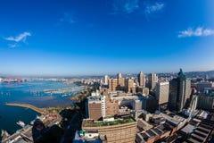 Durban Harbor City Buildings Landscape Stock Images