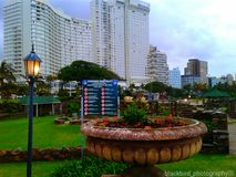 Durban. Ia beautiful ,Southern Sun hotel Royalty Free Stock Photo