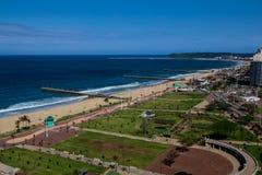 Durban kustlinje Arkivbilder