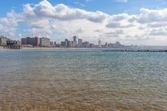 Durban, Kwazulu Natal, South Africa. The beautiful coastline of Kwazulu Natal, South Africa Stock Image