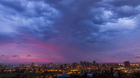 Durban linia horyzontu Południowa Afryka Obraz Royalty Free