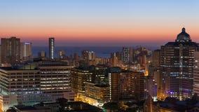 Durban linia horyzontu Południowa Afryka Zdjęcia Royalty Free