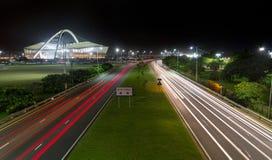 Durban linia horyzontu Południowa Afryka Zdjęcie Royalty Free