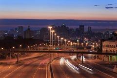 Durban linia horyzontu Południowa Afryka Obrazy Stock