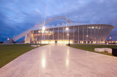 The Durban Moses Mabhida Soccer Stadium Stock Photo