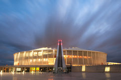 The Durban Moses Mabhida Soccer Stadium Royalty Free Stock Images