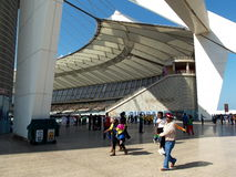 Durban moses mabhida royalty free stock photo