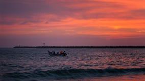 Durban pejzażu miejskiego wschodu słońca zmierzch Obrazy Royalty Free