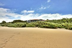 Durban plaża Fotografia Royalty Free
