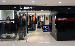 Durban shop in Hong Kong Stock Images
