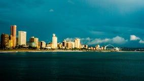 Durban shoreline Royalty Free Stock Images