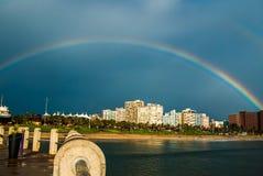 Durban shoreline Royalty Free Stock Photography