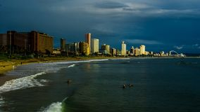 Durban shoreline Stock Images