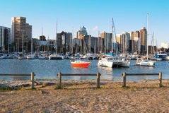 Durban small craft harbour Royalty Free Stock Images