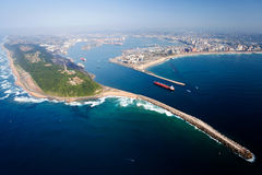 Durban, south africa. Overall aerial view of Durban, south africa Royalty Free Stock Images