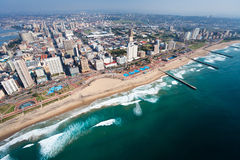 Durban, south africa. Aerial view of durban, south africa royalty free stock images