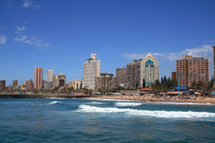 Durban, South Africa. Durban city skyline view, south africa stock photo