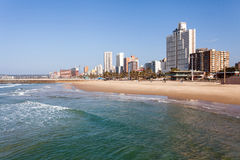Durban South Africa. Beautiful beachfront of Durban, South Africa Royalty Free Stock Images