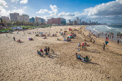 Durban, South Africa - 16 JANUARY 2015, A beautiful view of the royalty free stock images