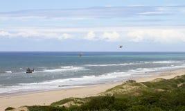 Durban-Strand Stockbild