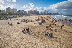 Durban Sydafrika - 16 JANUARI 2015, härlig sikt för A av Royaltyfria Bilder