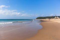 Durban Vetchies Beach Harbor Piers Royalty Free Stock Image