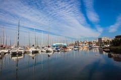 Durban Yacht Basin Harbor Royalty Free Stock Photos