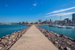 Durban Yacht Basin Jetty Harbor Stock Photos