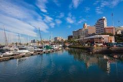 Durban Yacht Club Boats Harbor Stock Photos